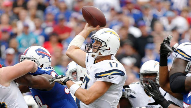 Philip Rivers has led the Chargers to consecutive wins over previously undefeated teams.