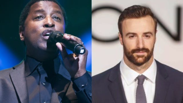 "Singer Kenneth ""Babyface"" Edmonds and race driver James Hinchcliffe join the 'Dancing With the Stars' cast."