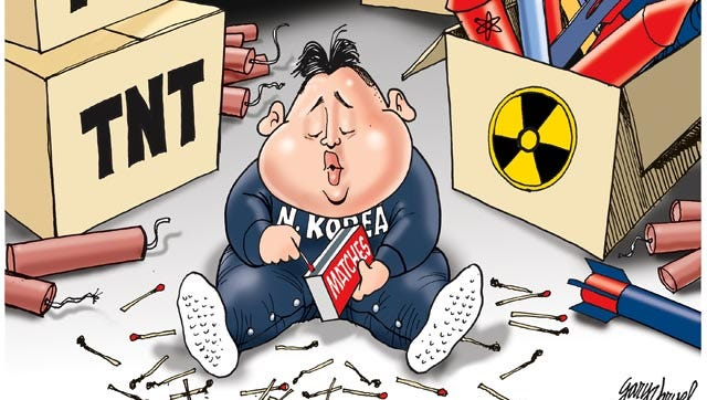 Kim Jong Un, the supreme leader of North Korea, is threatening to launch a war with his neighbors.