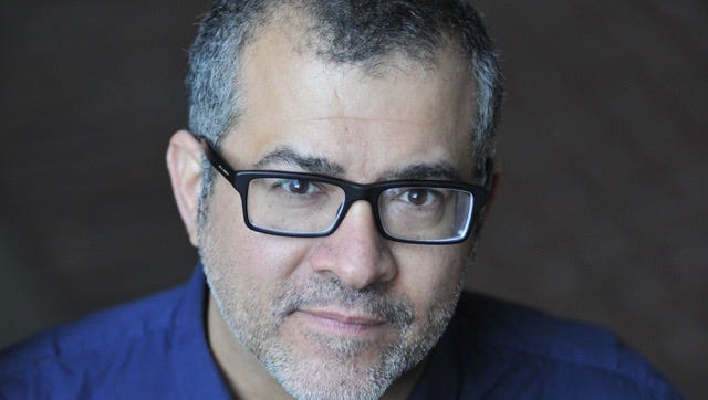Author Jorge Aguirre is a lover of the Montclair Public Library.