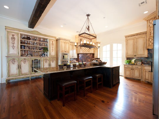 The kitchen is Tracey Ford's favorite space in the house.