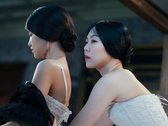 "Kim Tae-ri (left) and Kim Min-hee in ""The Handmaiden,"" an Amazon Studios/Magnolia Pictures release."