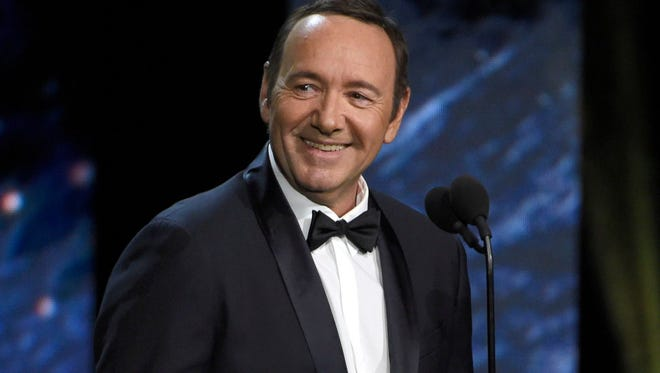 Kevin Spacey at the BAFTA Los Angeles Britannia Awards in Beverly Hills, Oct. 28, 2017.