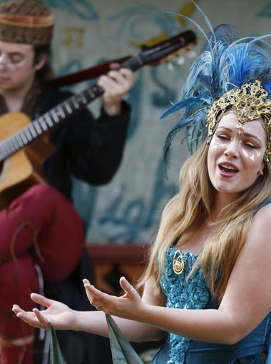Through 4/1: Arizona Renaissance Festival: It comes every year, and it's one of the largest renaissance festivals in the U.S. — the Arizona Renaissance Festival. Families can enjoy food, drinks, shows, the festival marketplace and jousting. Turkey legs, costumed characters and the final tournament are always highlights. | Details: 10 a.m.-6 p.m., Saturdays and Sundays, through April 1. 12601 U.S. 60, Gold Canyon. Single-day passes can be purchasedonline, in advance at Fry's Food Stores and on-site. 520-463-2600, arizona.renfestinfo.com.