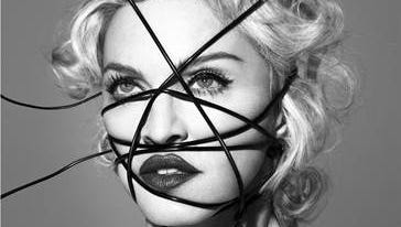 """Album art cover for """"Rebel Heart"""" by Madonna"""