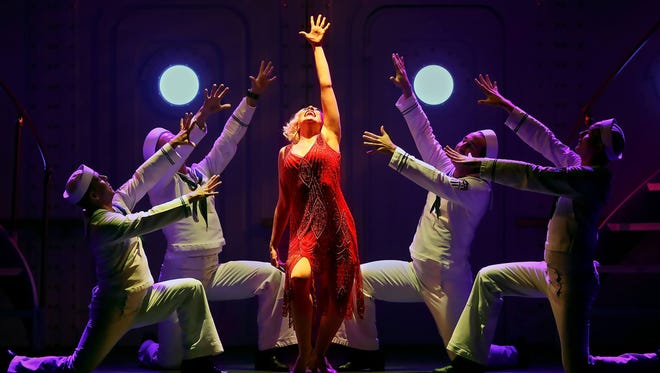 """Theresa Walker performs in Broadway Palm's production of """"Anything Goes"""" in February 2017."""