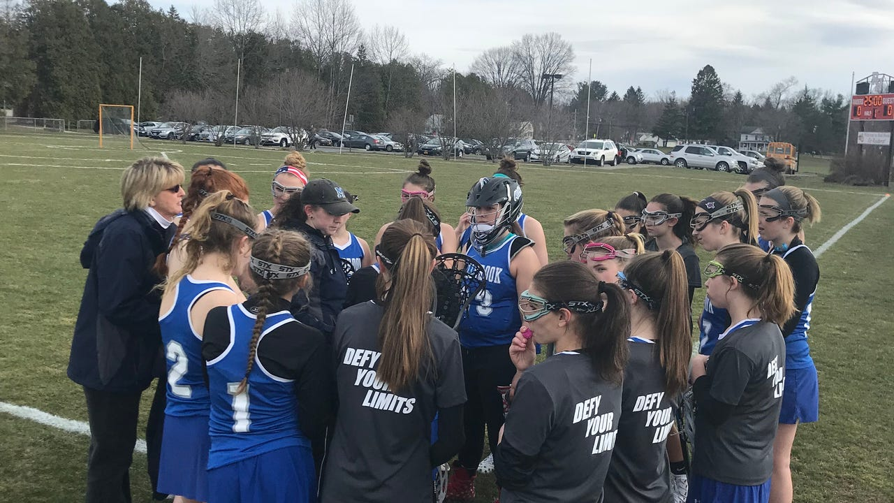 Highlights and interviews from the Red Hook High School girls lacrosse team's game against visiting Millbrook on Monday.