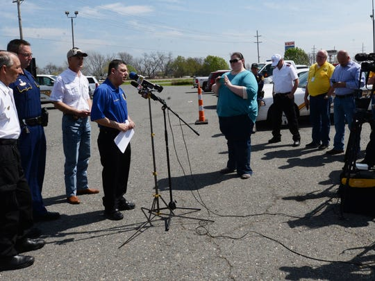 Bossier City officials held a press conference at the
