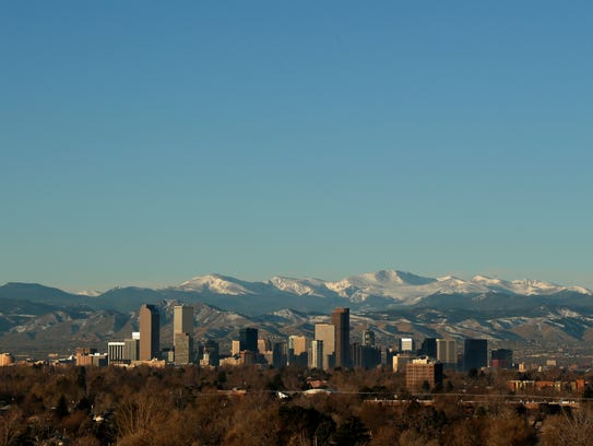 In this Jan. 24, 2016 file photo, the Rocky Mountains