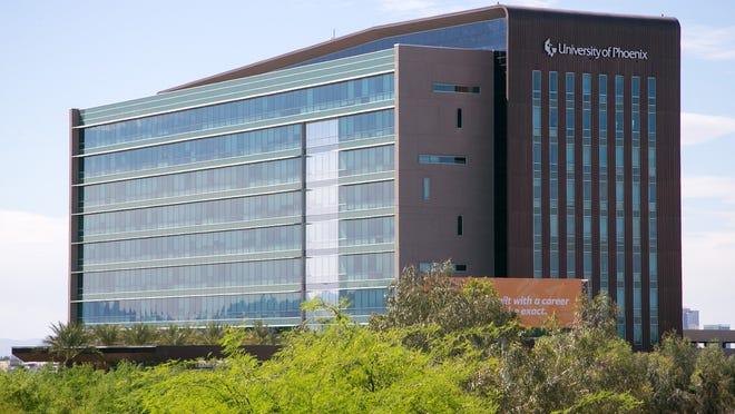 A University of Phoenix office in Phoenix on Friday, April 11, 2014.