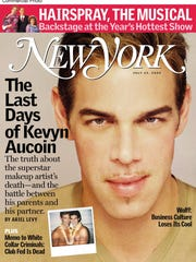 The untimely death of Kevyn Aucoin, Hollywood's master make-up artist and best-selling author of several books on beauty, was the result of an addiction to painkillers, reports this week's issue of New York Magazine, on-sale Monday, July 15, 2002.