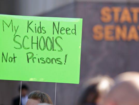 school funding poster