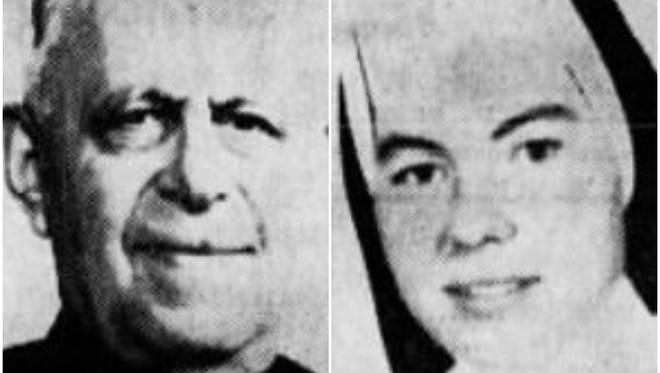 The Rev. George Weinmann and Sister Lillian Marie McLaughlin died in the St. Philip Neri R.C. Church fire of 1967.