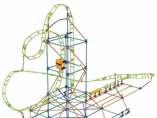 Let your kids be the roller coaster designer!