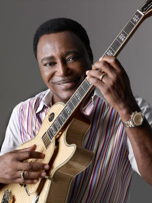 Guitarist and singer George Benson performs at 9 p.m. Friday at the JP Morgan Chase Main Stage.