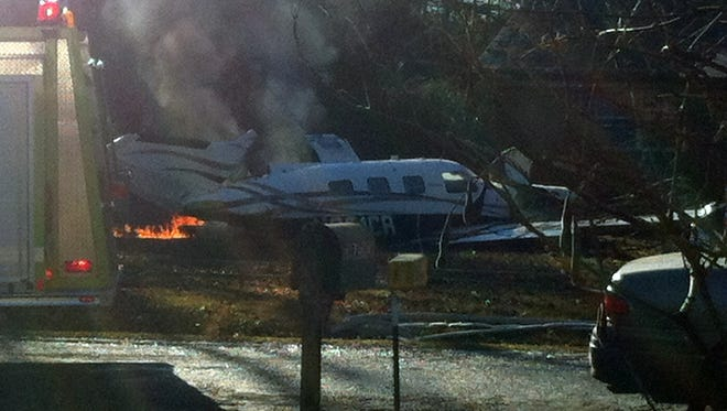 Plane crash in Alcorn County