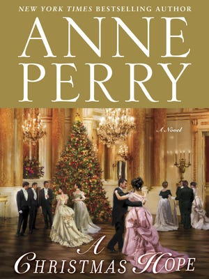 Book jacket of Anne Perry's 'A Christmas Hope""