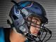 Pebble Hills senior linebacker Kevin Esquivel, left,