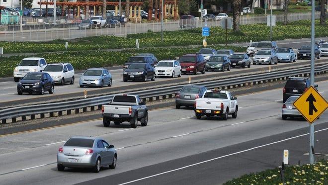 STAR FILE PHOTO Traffic on Highway 101 in Camarillo.