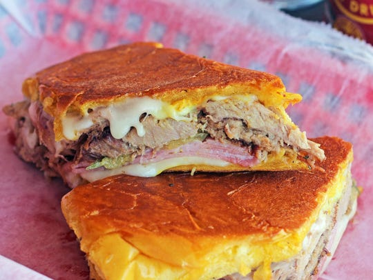 Midnight sandwich at the new Rumba Cuban Cafe to Go,