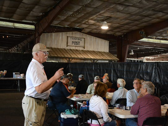 Florida Barbecue Association representative Gary Washam