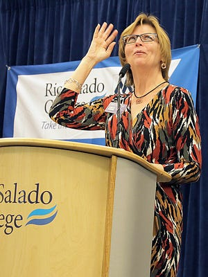 """""""Looking for her next path,"""" Mary Ann Miller recently announced her retirement after more than two decades as President and CEO of the Tempe Chamber of Commerce"""