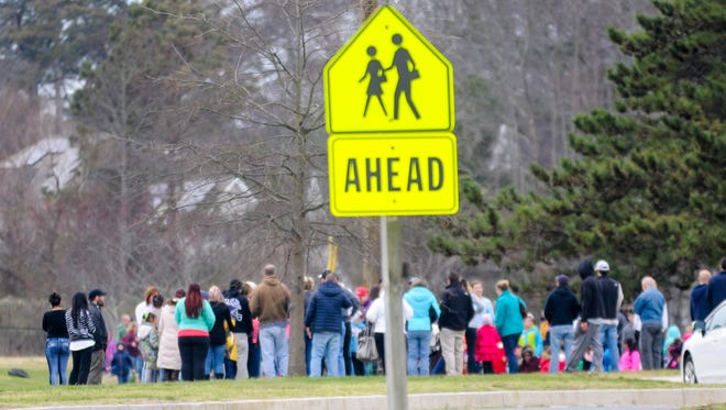 Ocean City Elementary students were evacuated after a bomb threat was called into Worcester County Schools on Friday, Jan. 15.