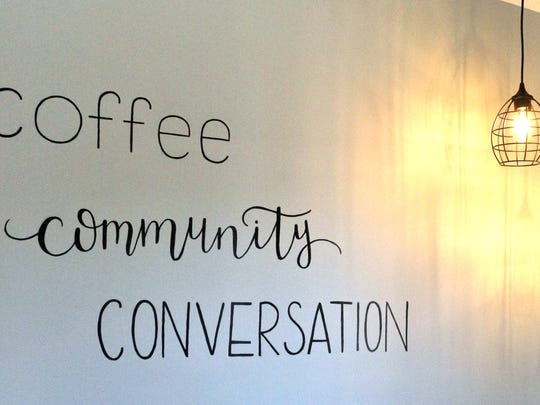 The White Oak Coffee Company gives locals a place to have a cup of coffee and catch up with each other.