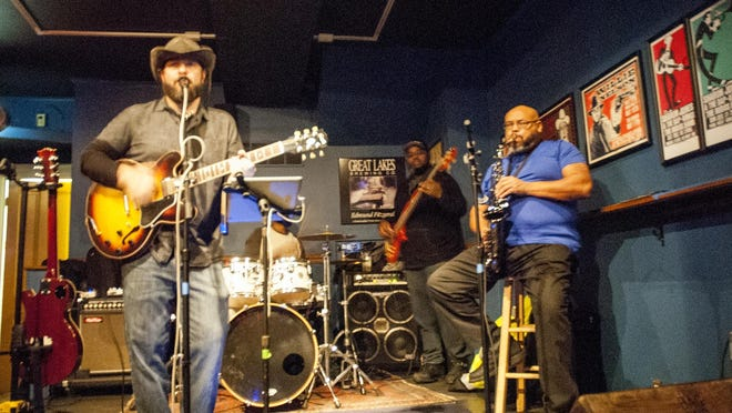 """""""MIller and the Other Sinners"""" band plays a southern soul sound with some covers and some of their originals."""