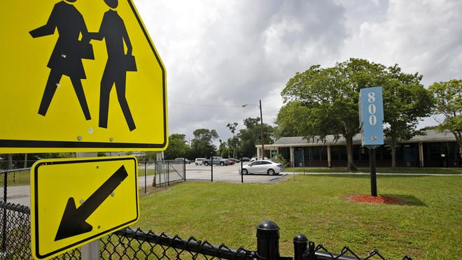Last day of school at Turie T Small Elementary School in Daytona Beach in Daytona Beach, Thursday, May 28, 2020.