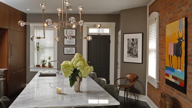 Tim Morbitzer said he learned to cook after he and Giancarlo Miranda remodeled their kitchen.