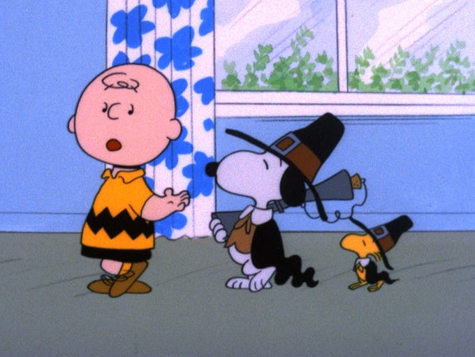 """A Charlie Brown Thanksgiving"" (ABC, Nov. 21, 8 EST/PST)"
