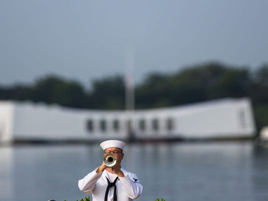 Annual Memorial Ceremony Commemorates WWII Attack On Pearl Harbor
