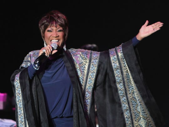 Patti LaBelle performs at the 2012 Mothers Day Music Festival at the Boardwalk Hall Arena on in Atlantic City.
