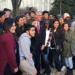 Inauguration essays: Area students travel to D.C.