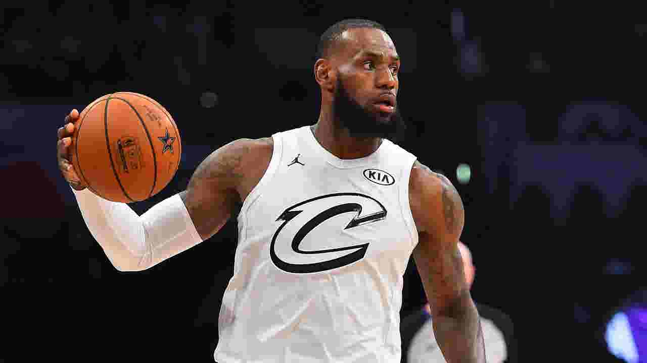 27e902bfb5e9 NBA All-Star Game  LeBron James wins third MVP of career