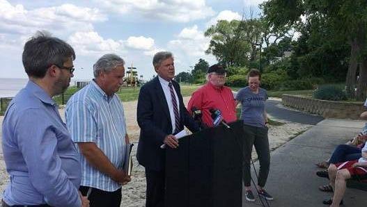 U.S. Rep. Frank Pallone Jr. and the New Jersey Sierra Club on Monday were among those who commemorated the creation of the EPA on July 9, 1970 at the site of the Raritan Bay Slag Superfund site in the Laurence Harbor section of Old Bridge.