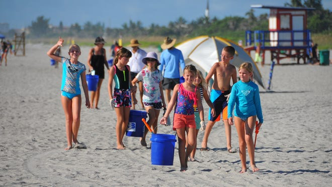 Since the Summer Series beach cleanups began in 2015, volunteers have removed 15 tons of litter from Brevard shorelines.