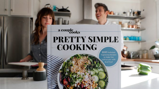A Couple Cooks food bloggers Sonja and Alex Overhiser, how they went from fast food to eating healthy, and their new cookbook involving a super quick start-to-finish recipes.