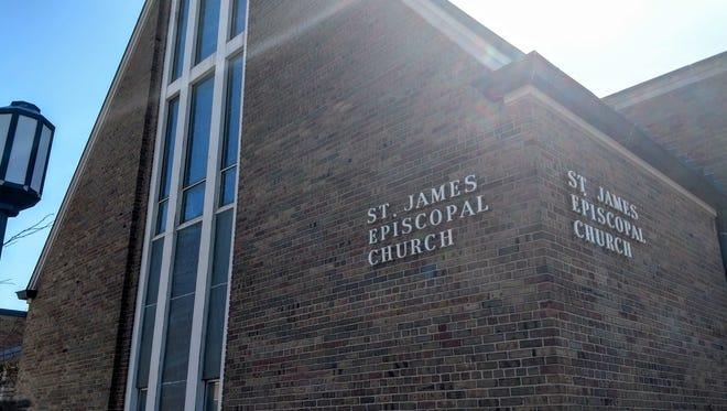 St. James Episcopal Church in downtown Birmingham.