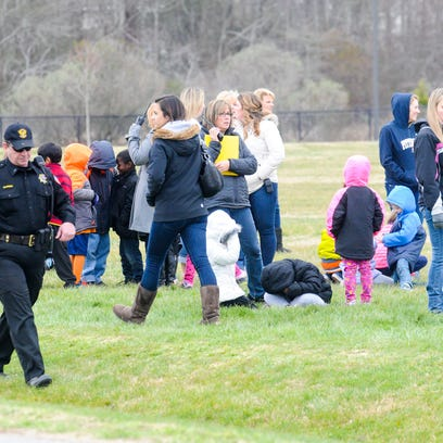 Ocean City Elementary students were evacuated after