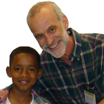 Reading Coach Stephen Downey and student Jayden Whiteside pose for a photo at a Read To Succeed event. The nonprofit tutoring agency is in need of volunteers. An orientation and question and answer session will be hosted on Feb. 18. The public is invited to attend.
