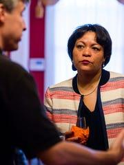 New Orleans Mayor LaToya Cantrell.