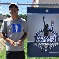 Bloomfield Hills' Zhang nets USTA Midwest Closed Boys 18s singles title
