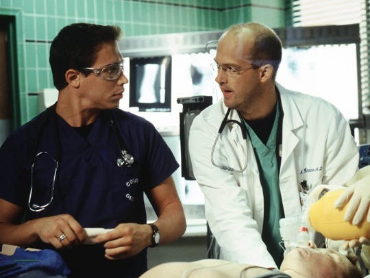Anthony Edwards, best known for playing Dr. Mark Greene