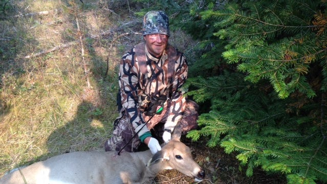 Joe Metcalf took this white-tailed deer in the Thompson Falls area.