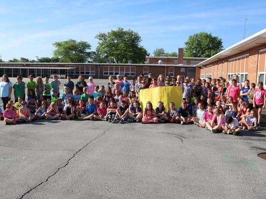 R.C. Waters Elementary School's third grade students,