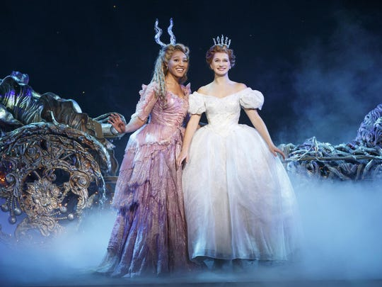 """Leslie Jackson and Tatyana Lubov in """"Rodgers + Hammerstein's Cinderella,"""" appearing at the Playhouse on Rodney Square through Sunday."""