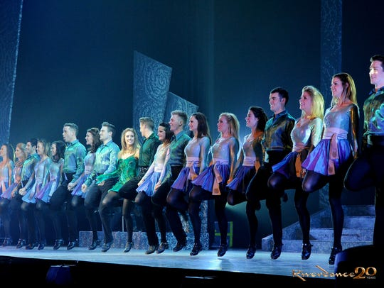 """Riverdance"" performs."