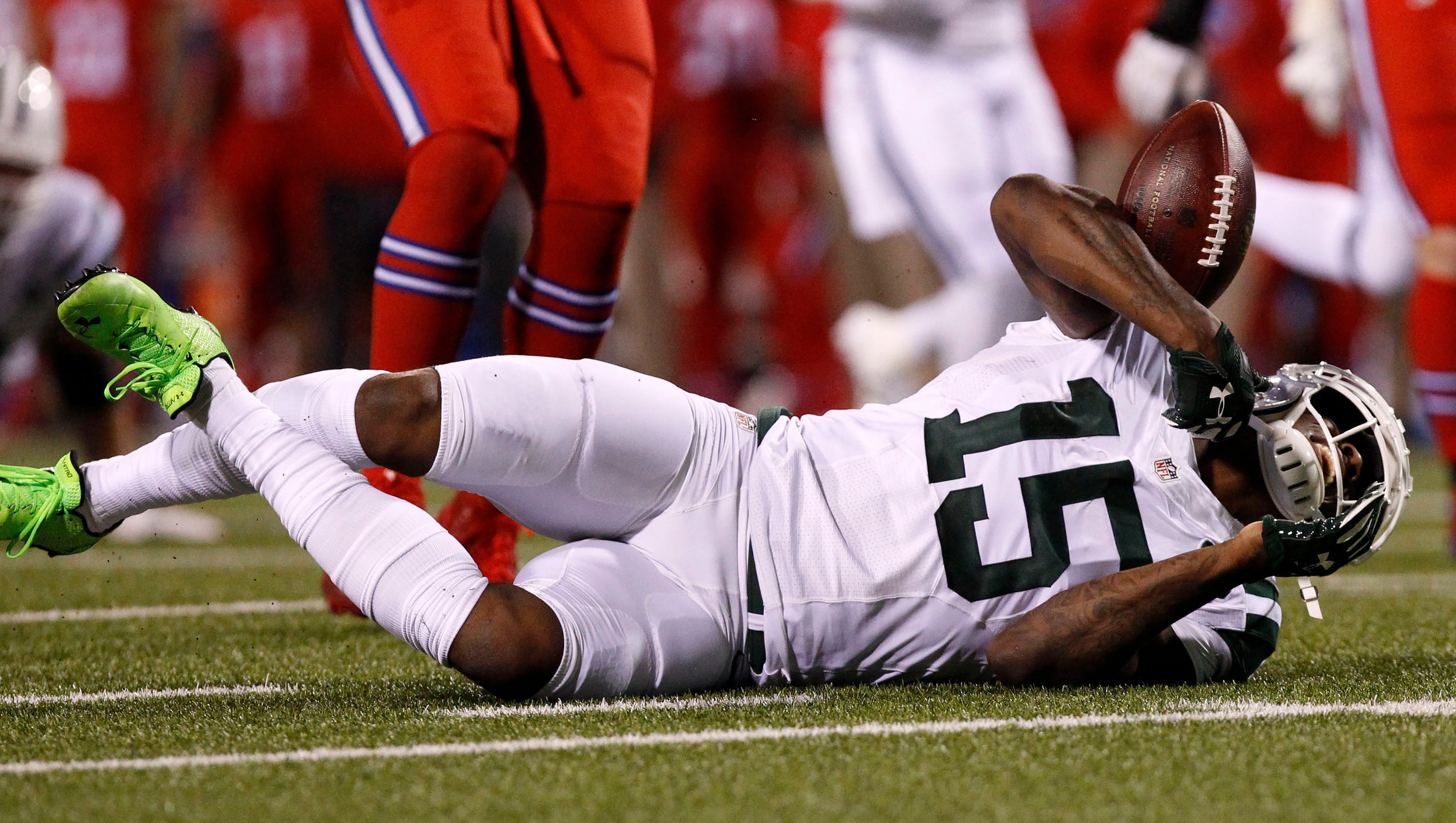 jets u0026 39  brandon marshall   u0026 39 thought it was over u0026 39  after knee